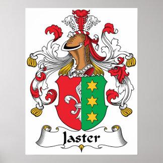 Escudo de la familia de Jaster Poster
