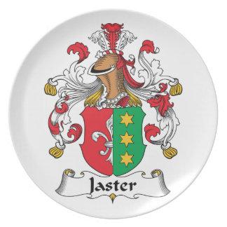 Escudo de la familia de Jaster Platos