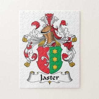 Escudo de la familia de Jaster Rompecabezas Con Fotos