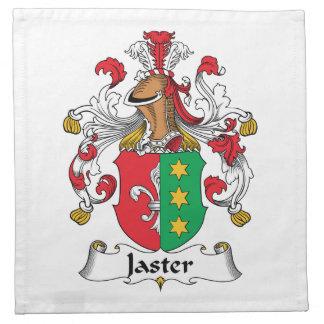Escudo de la familia de Jaster Servilletas