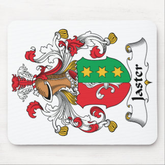 Escudo de la familia de Jaster Alfombrilla De Raton