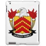 Escudo de la familia de Jauncey