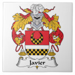 Escudo de la familia de Javier Azulejo Cerámica