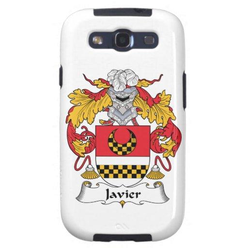 Escudo de la familia de Javier Galaxy S3 Cárcasa