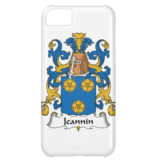 Escudo de la familia de Jeannin Funda Para iPhone 5C