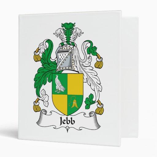 Escudo de la familia de Jebb