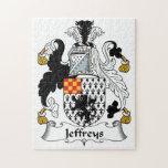 Escudo de la familia de Jeffreys Puzzle