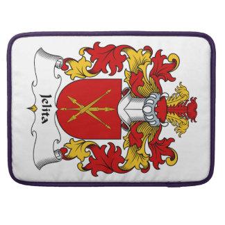 Escudo de la familia de Jelita Funda Para Macbooks