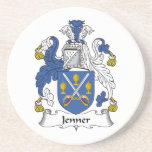 Escudo de la familia de Jenner Posavasos Manualidades