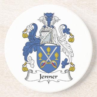 Escudo de la familia de Jenner Posavasos Diseño