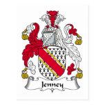 Escudo de la familia de Jenney Postal