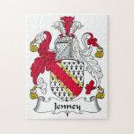 Escudo de la familia de Jenney Puzzles Con Fotos