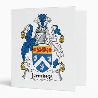 """Escudo de la familia de Jennings Carpeta 1"""""""