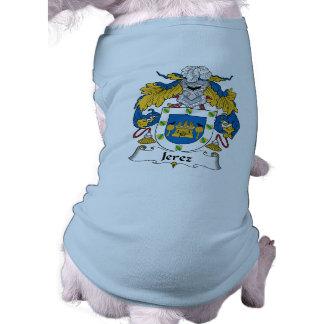 Escudo de la familia de Jerez Camiseta De Perro