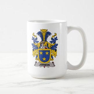 Escudo de la familia de Jermiin Tazas De Café