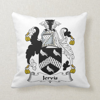 Escudo de la familia de Jervis Cojin