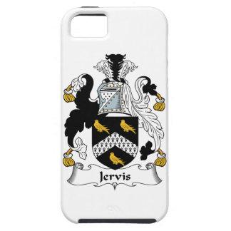 Escudo de la familia de Jervis iPhone 5 Protectores