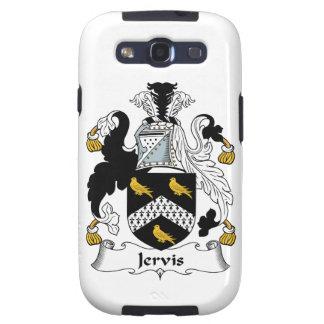 Escudo de la familia de Jervis Samsung Galaxy S3 Carcasas