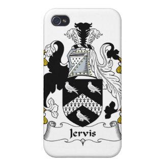 Escudo de la familia de Jervis iPhone 4 Carcasa