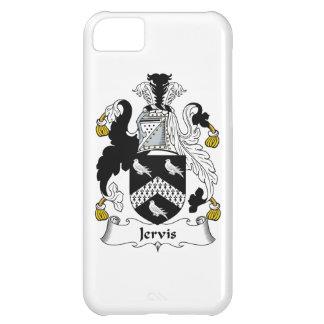 Escudo de la familia de Jervis Funda Para iPhone 5C