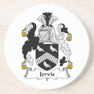 Escudo de la familia de Jervis Posavasos Manualidades