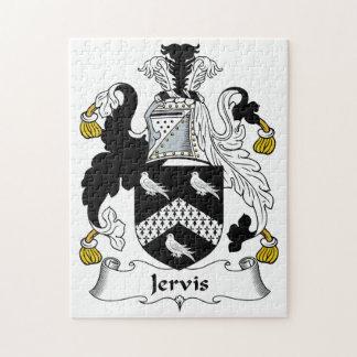 Escudo de la familia de Jervis Rompecabezas Con Fotos