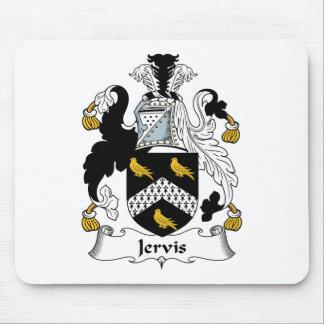 Escudo de la familia de Jervis Tapetes De Ratón
