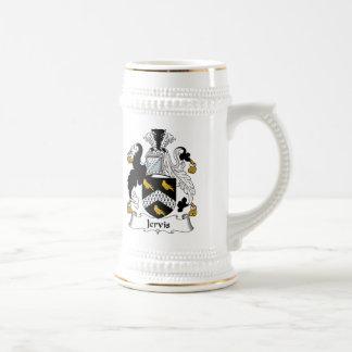 Escudo de la familia de Jervis Tazas De Café