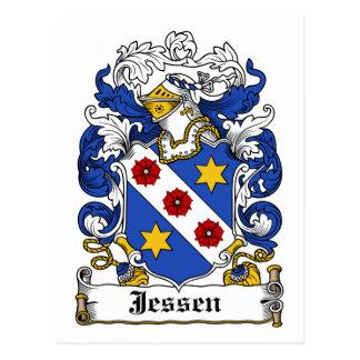 Escudo de la familia de Jessen Postales