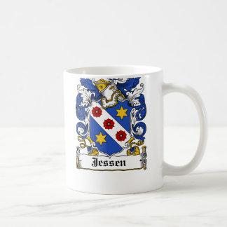 Escudo de la familia de Jessen Taza Clásica