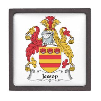 Escudo de la familia de Jessop Cajas De Recuerdo De Calidad