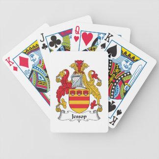 Escudo de la familia de Jessop Cartas De Juego