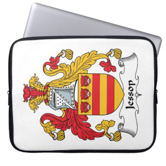 Escudo de la familia de Jessop Funda Computadora