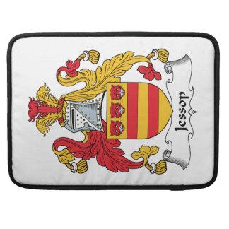 Escudo de la familia de Jessop Fundas Para Macbooks