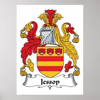 Escudo de la familia de Jessop Impresiones