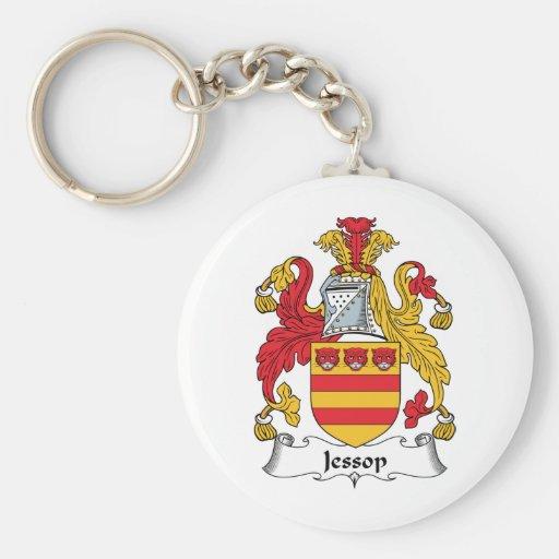 Escudo de la familia de Jessop Llavero Personalizado