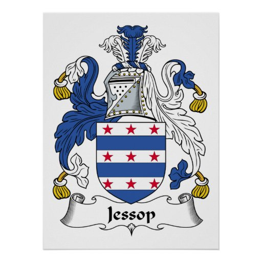 Escudo de la familia de Jessop Póster