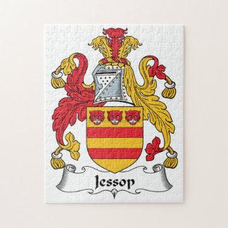 Escudo de la familia de Jessop Rompecabeza Con Fotos