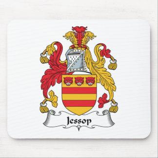 Escudo de la familia de Jessop Tapetes De Raton