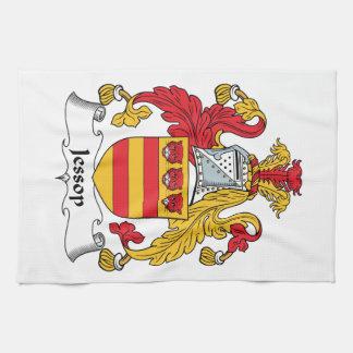 Escudo de la familia de Jessop Toallas De Mano