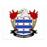 Escudo de la familia de Jessup Postal