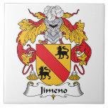 Escudo de la familia de Jimeno Azulejo