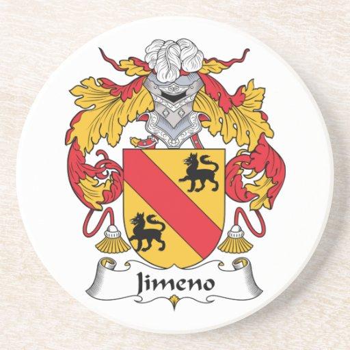 Escudo de la familia de Jimeno Posavasos De Arenisca