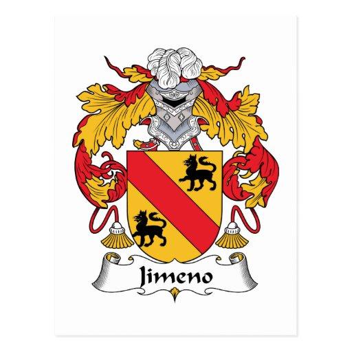 Escudo de la familia de Jimeno Postal