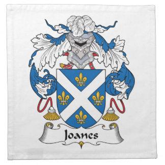 Escudo de la familia de Joanes Servilletas