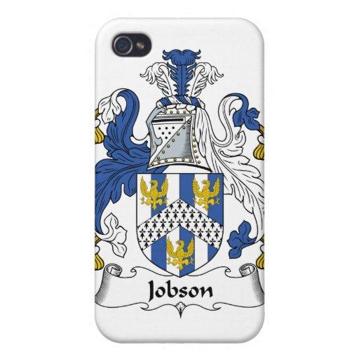 Escudo de la familia de Jobson iPhone 4 Cárcasa