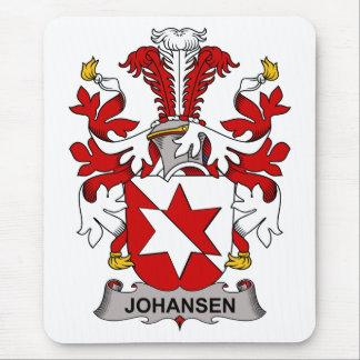 Escudo de la familia de Johansen Tapete De Ratones