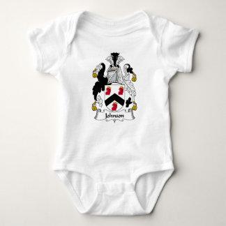 Escudo de la familia de Johnson Body Para Bebé
