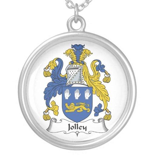 Escudo de la familia de Jolley Colgante Redondo
