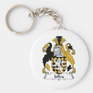 Escudo de la familia de Jolley Llaveros Personalizados